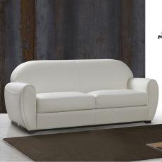 Biancospino - Divano letto a 2, 3 posti o 3 posti XL, diversi rivestimenti e colori disponibili