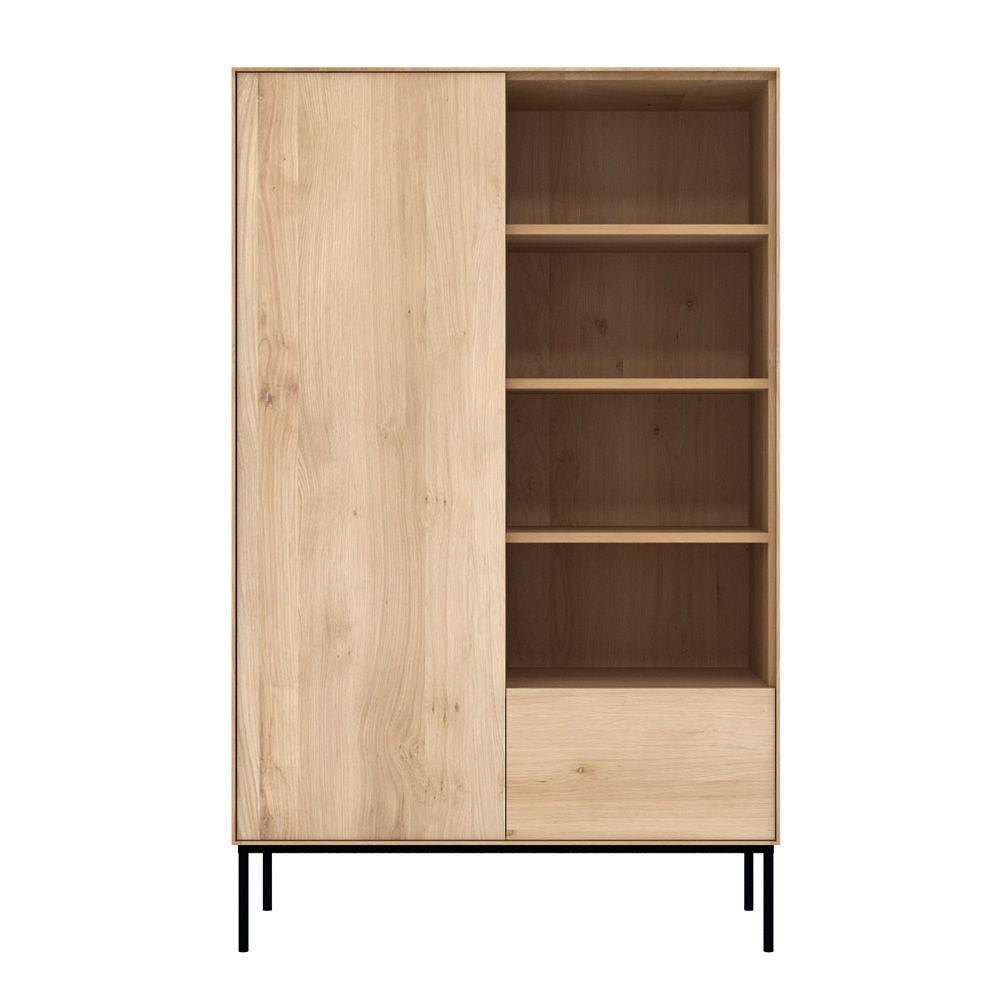 Bird b mueble de sal n librer a ethnicraft de madera - Muebles de madera para salon ...