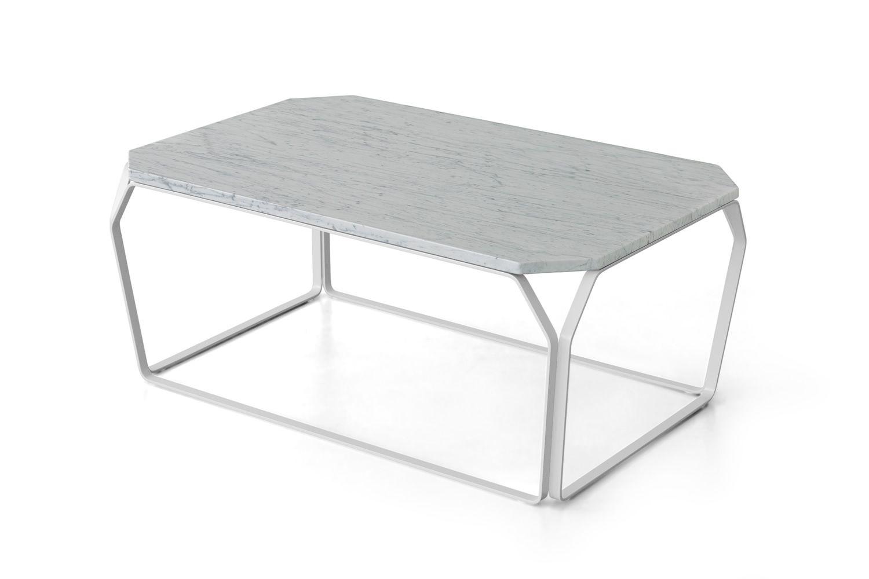 tray 2 marble designer beistelltisch aus metall mit. Black Bedroom Furniture Sets. Home Design Ideas