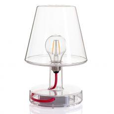 Transloetje - Lampada da tavolo Fatboy, in policarbonato trasparente di diversi colori, a batteria ricaricabile, LED, anche per esterno
