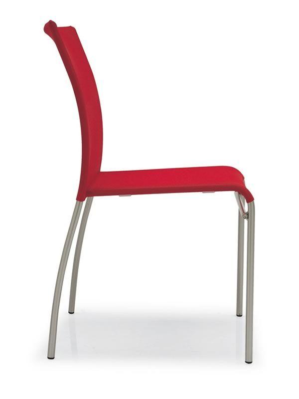 362 stuhl aus metall mit sitzfl che und r ckenlehne aus. Black Bedroom Furniture Sets. Home Design Ideas