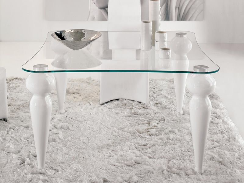 Bexley q 8029 mesa cuadrada tonin casa en m rmol for Marmol blanco cristal