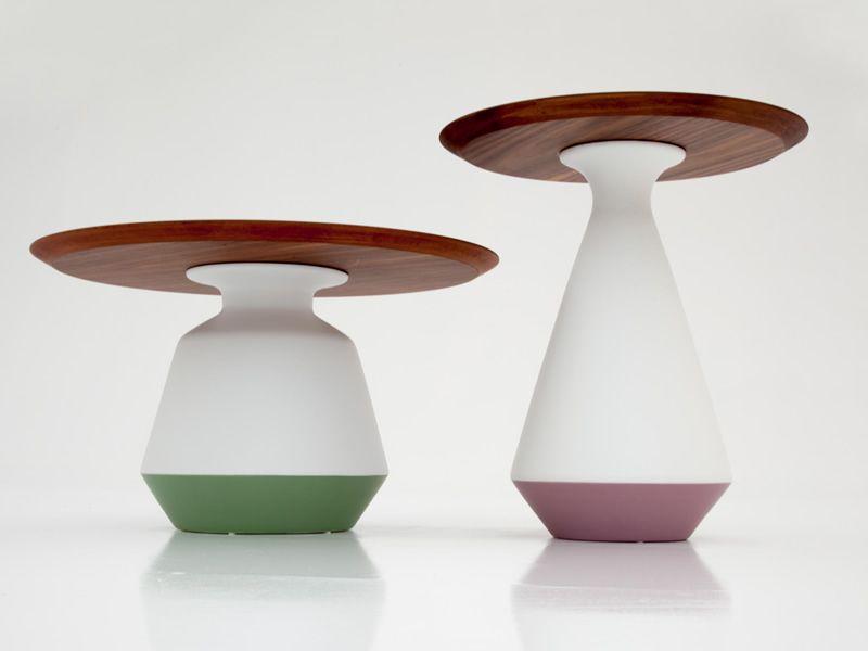 Tavolino Salotto Verde : Amira 6273 tavolino basso tonin casa in ceramica e legno diametro