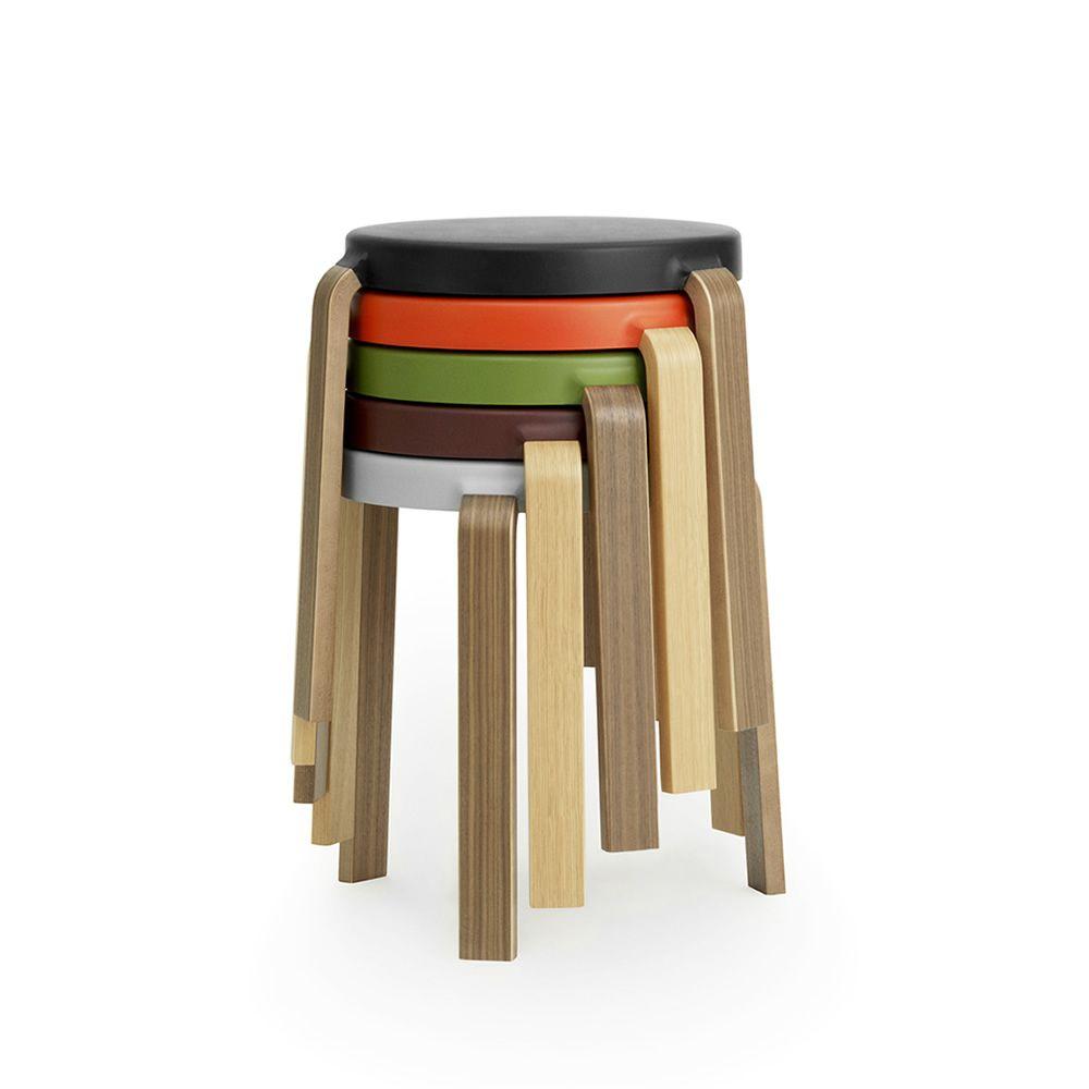 Tap taburete apilable normann copenhagen de madera for Sgabelli impilabili