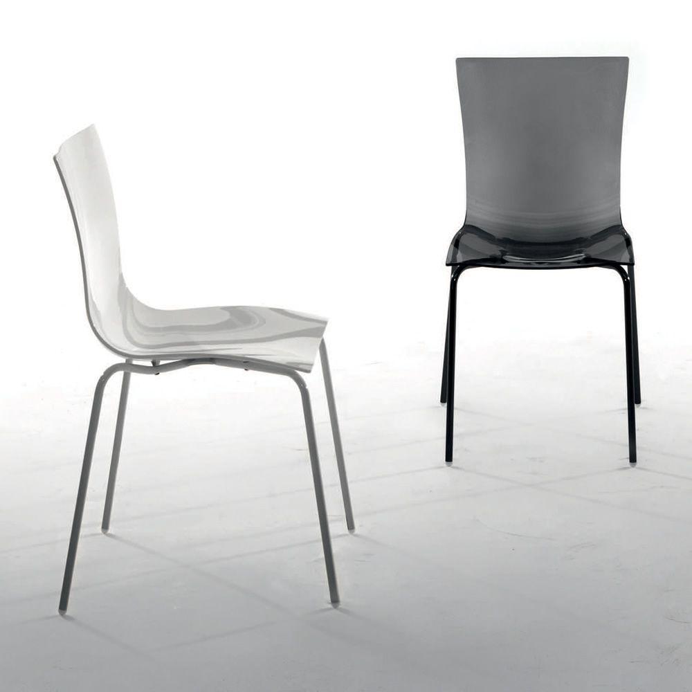 Aria easy 7204 silla apilable tonin casa de metal y for Designer stapelstuhl