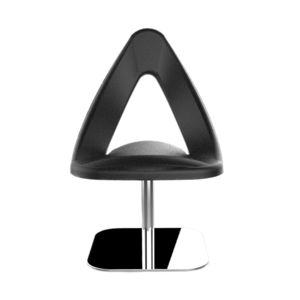 Chilly: Designer Stuhl Tonon, drehbar, mit Standfuß aus ...