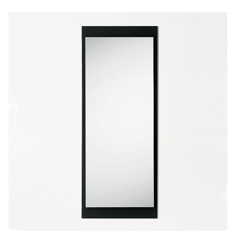 Line r miroir rectangulaire avec cadre en verre color 45 x 114 cm sediarreda for Miroir rectangulaire noir