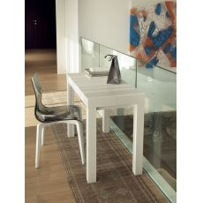 Cosmo - Domitalia wooden console, 100 x 50 cm extendable