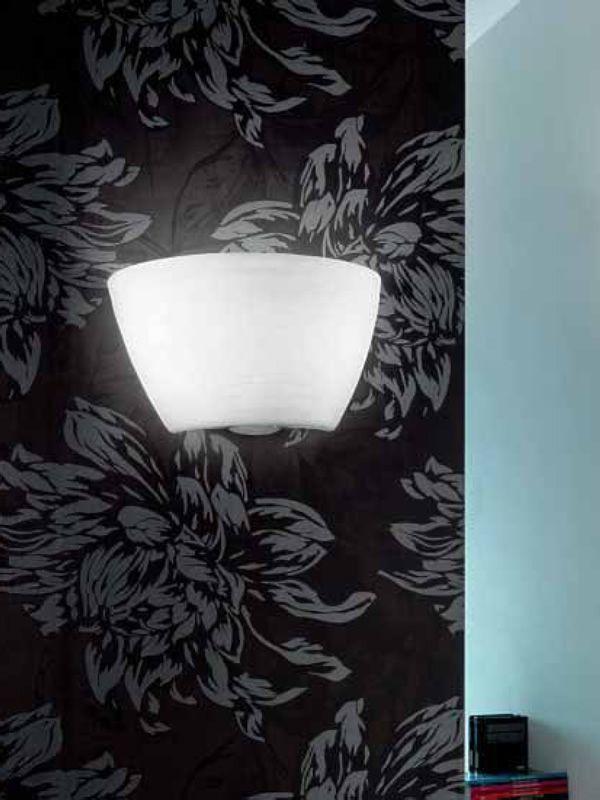 Fa2918p lampe murale en verre et métal sediarreda