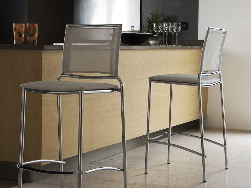 fly sg stapelbarer hocker midj aus metall sitz aus netz. Black Bedroom Furniture Sets. Home Design Ideas
