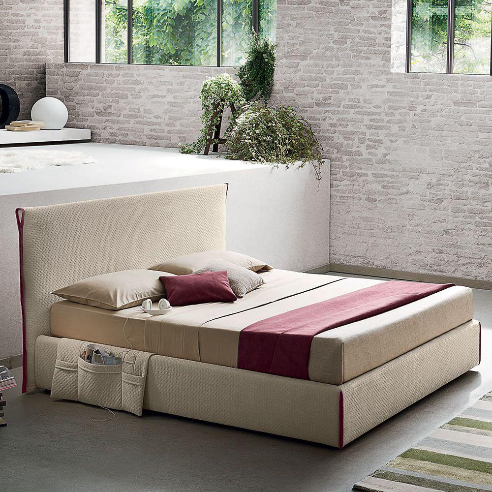 Elegant Doppelbett Mit Bettkasten Ideen Von Tom - Modernes Gepolstertes Doppelbett,