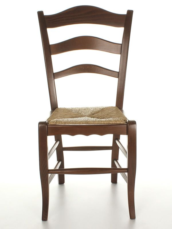 Mu10 country style chair in wood different dyes for Types of wooden chairs