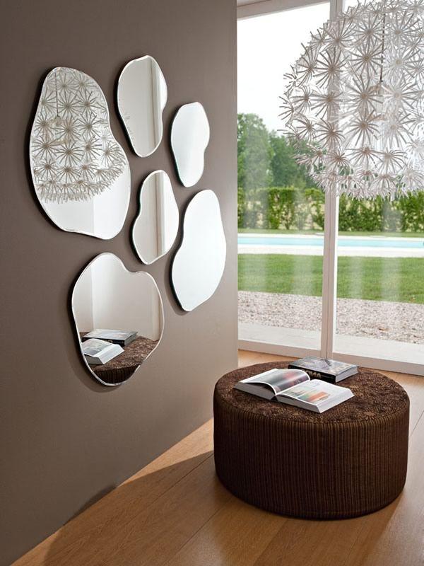pa305537 composition de 6 miroirs en diff rentes dimensions sediarreda. Black Bedroom Furniture Sets. Home Design Ideas
