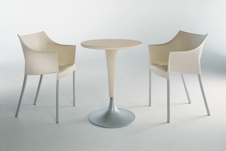 dr no designer stuhl von kartell stapelbar aus aluminium und polypropylen in verschiedenen. Black Bedroom Furniture Sets. Home Design Ideas