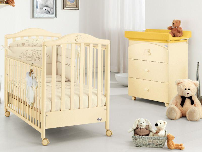 Lit Bébé En Bois Avec Tiroir : Prestige little star lit bébé pali en bois avec tiroir