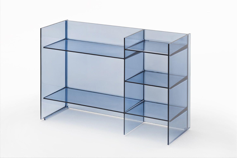 Sound rack: meuble salle de bains kartell by laufen, empilable, en ...