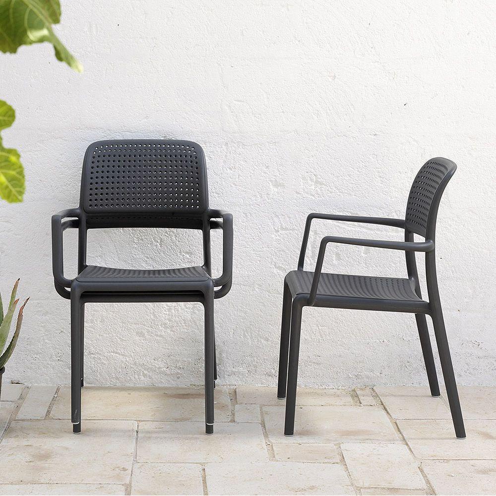 bora pour bars et restaurants fauteuil en r sine de. Black Bedroom Furniture Sets. Home Design Ideas