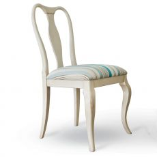 4346 Abel - Tonin Casa classic chair made of wood, different upholsteries and colors available