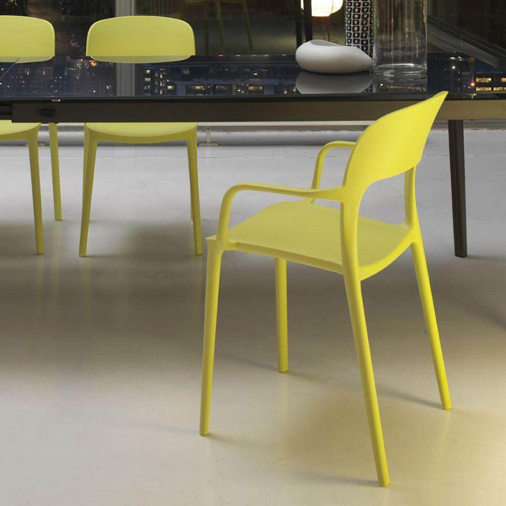 gipsy per bar e ristoranti - sedia impilabile per bar e ristoranti
