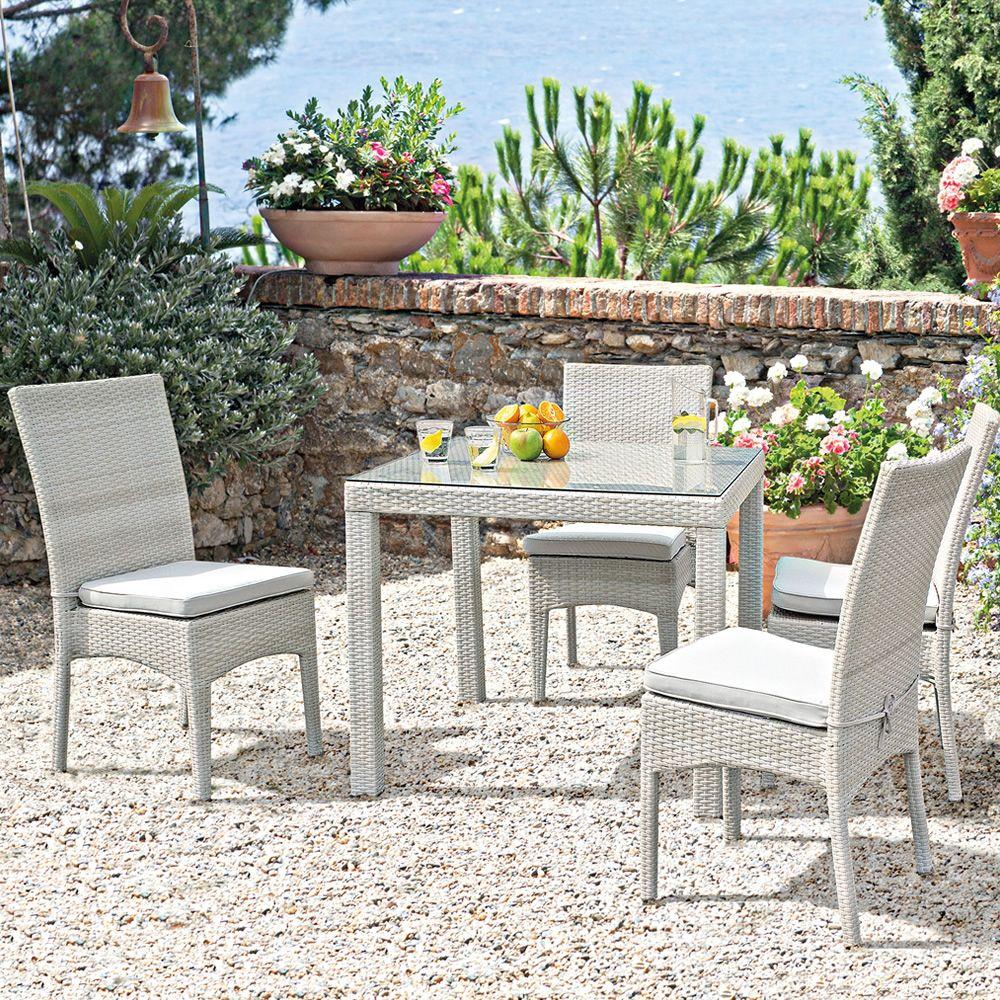 Prezzi tavoli set tavolo pieghevole in legno con sedie e - Tavoli da giardino rattan prezzi ...