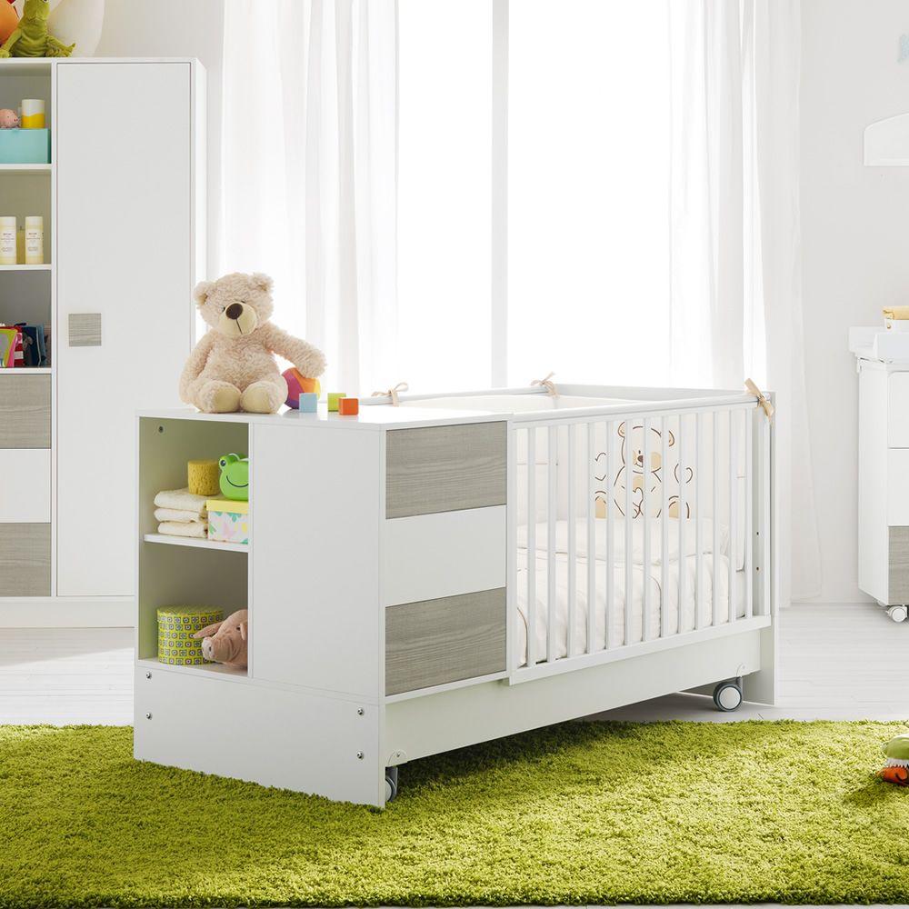zoom wandelbares babybett pali mit schublade in. Black Bedroom Furniture Sets. Home Design Ideas