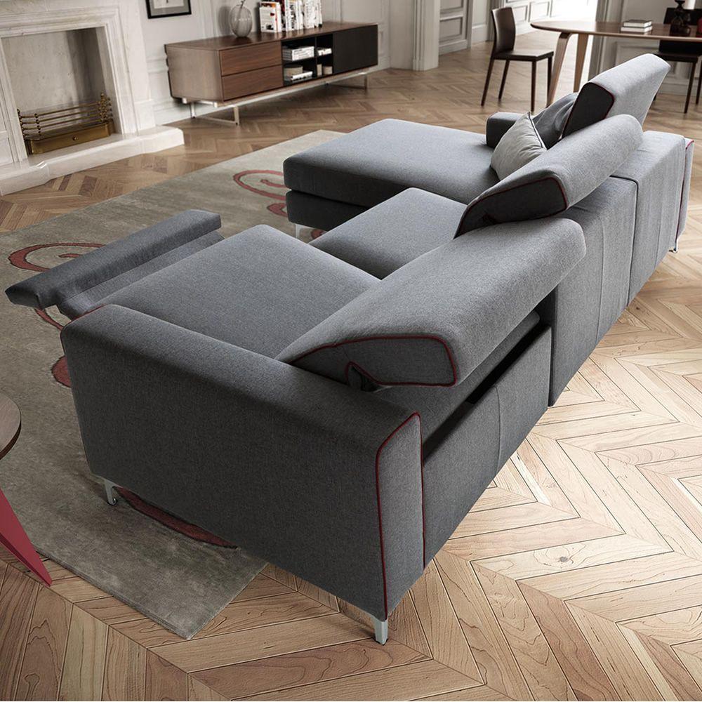 Drive in divano a 2 2 posti maxi o 3 posti con - Divano meccanismo relax ...