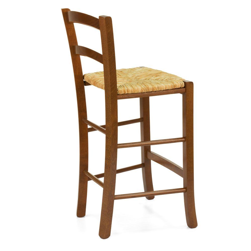 199 b taburete r stico en madera altura 64 cms for Taburetes de madera rusticos