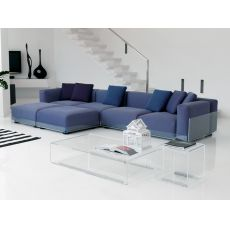 Asami 4P - 4 seaters sofa by Colico Design with methacrylate structure, also for outdoor,  different upholsteries and colors available