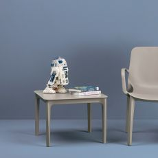 Argo 2151 - Tavolino per esterno, in tecnopolimero, impilabile, diversi colori disponibili