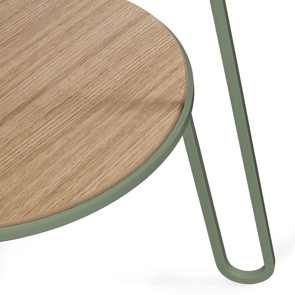 anatole beistelltisch aus metall und holz sediarreda. Black Bedroom Furniture Sets. Home Design Ideas