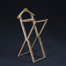 Treee Niles - Folding valet stand in solid wood