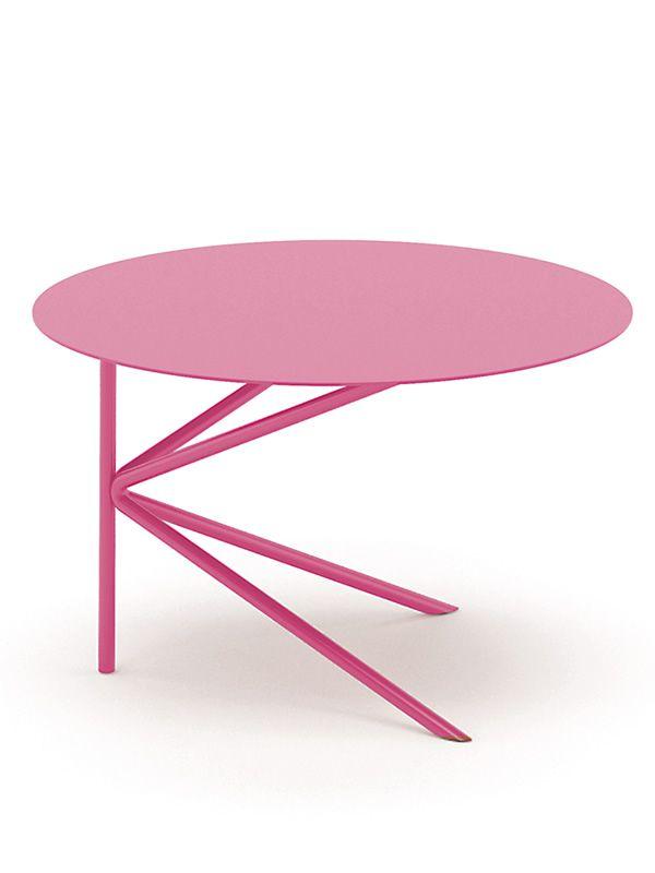 twin table design ronde en m tal disponible en diff rentes dimensions et couleurs sediarreda. Black Bedroom Furniture Sets. Home Design Ideas