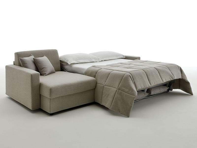 Leo divano letto a 2 o 3 posti maxi con chaise longue contenitore sediarreda - Divano contenitore 2 posti ...