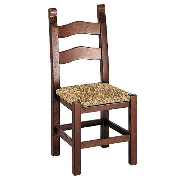 Mu130 para bare y restaurantes silla r stica en madera - Sillas de madera para bar ...