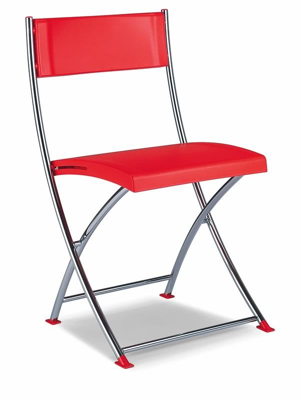 ml102 chaise pliante chrom e sediarreda. Black Bedroom Furniture Sets. Home Design Ideas