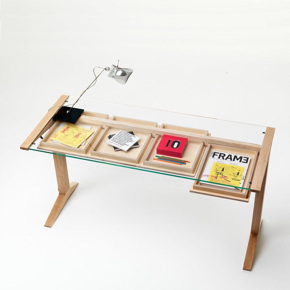 Verzauberkunst Schreibtisch 140x60 Ideen Von Leo - Aus Eschenholz In Der Farbe