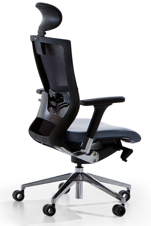 x chair chaise de bureau ex cutif avec ou sans appui t te si ge rembourr et dossier en filet. Black Bedroom Furniture Sets. Home Design Ideas