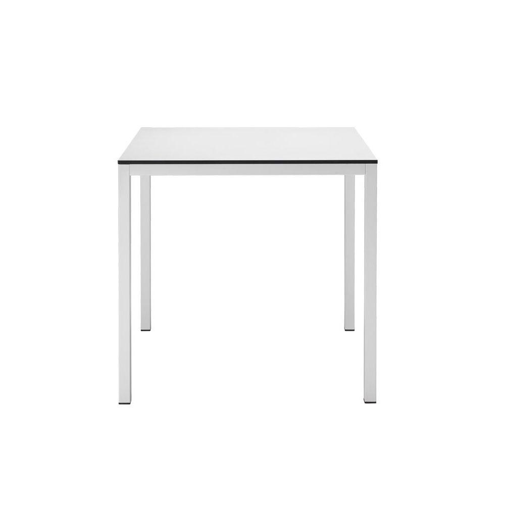 Mirto 2421 tavolo fisso in metallo con piano in for Tavolo mirto b b prezzo