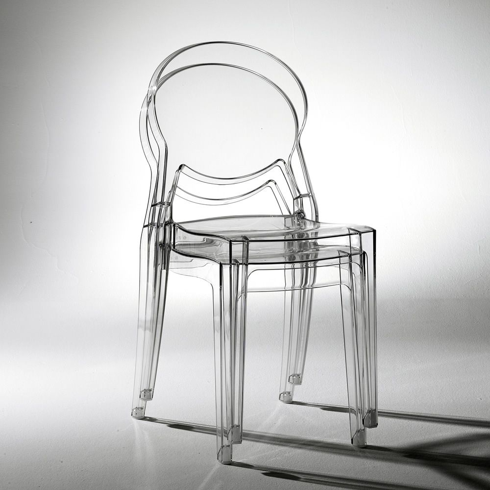 Igloo chair 2357 design stuhl aus polycarbonat for Stuhl transparent design