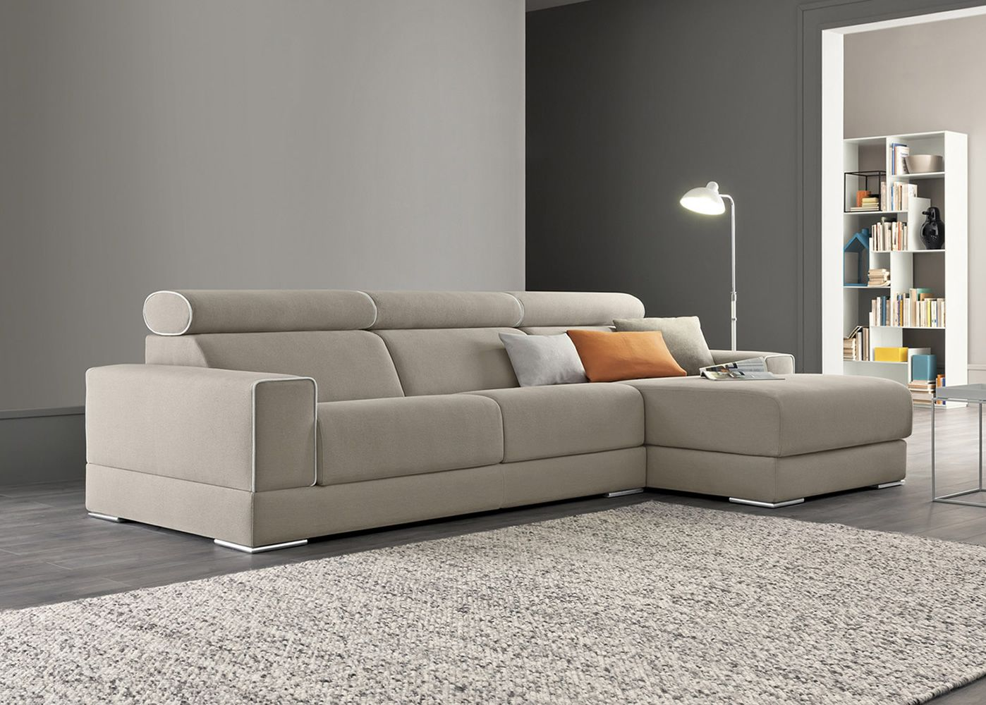 jack p canap 2 3 ou 3xl places avec chaise longue assises coulissantes et appui t tes. Black Bedroom Furniture Sets. Home Design Ideas