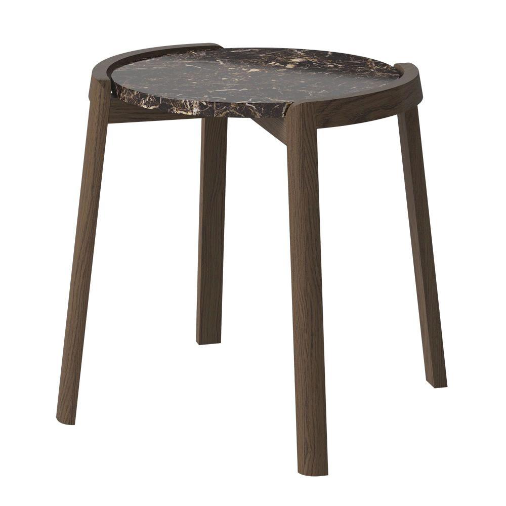 Mix table basse en bois plateau en marbre sediarreda - Table basse plateau marbre ...