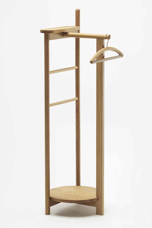 laurel stummer diener aus eichenholz in verschiedenen. Black Bedroom Furniture Sets. Home Design Ideas
