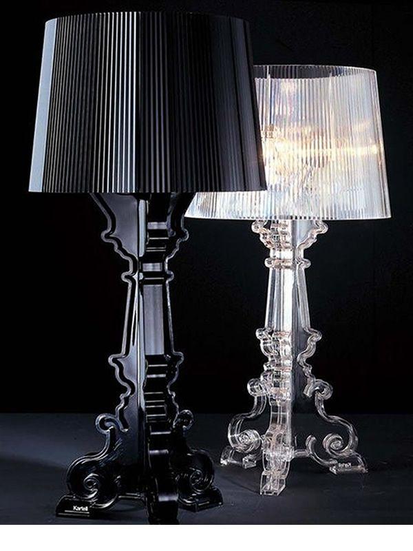 bourgie - lampada da tavolo kartell, in policarbonato - sediarreda - Mobili Ingresso Kartell