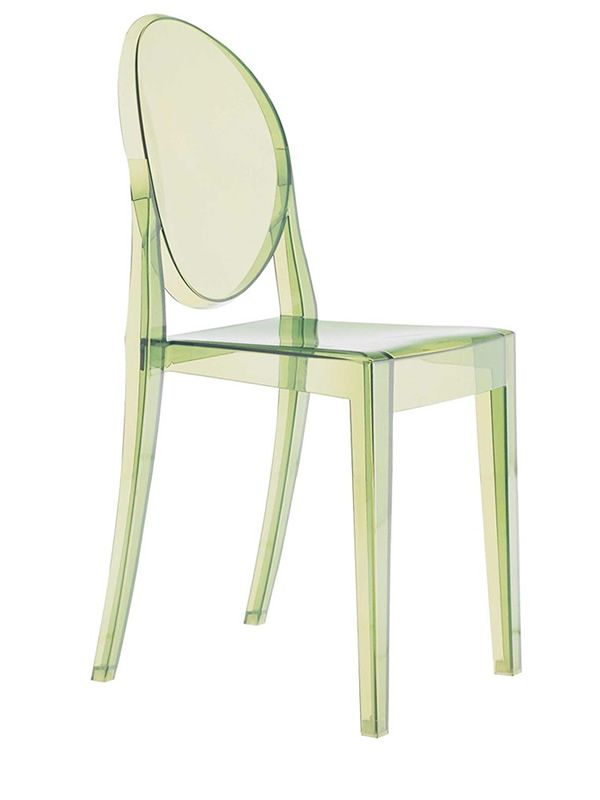 Victoria Ghost: Kartell design chair, transparent or full colour ...