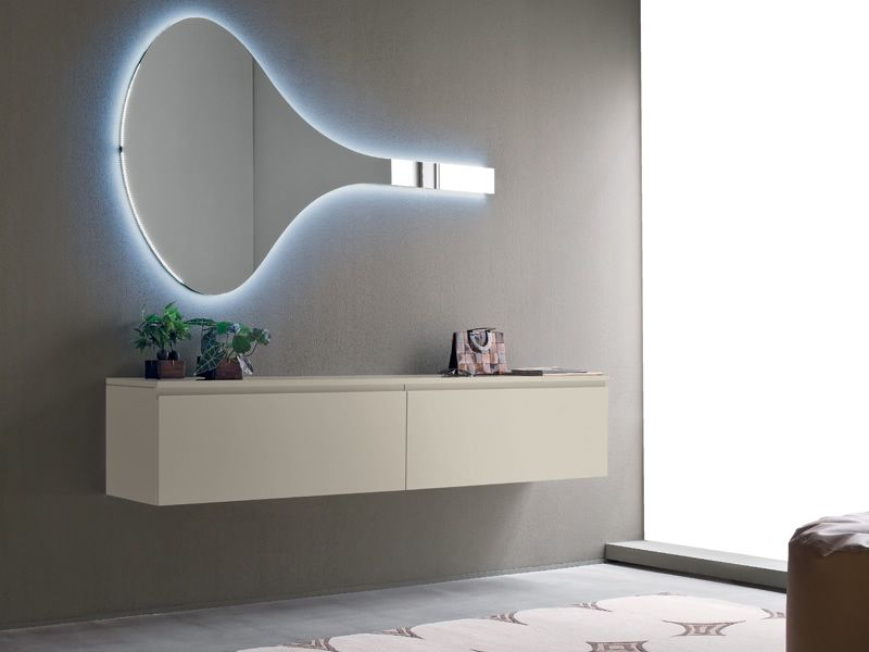 logika 6 meuble entr e avec miroir disponible en diff rentes couleurs sediarreda. Black Bedroom Furniture Sets. Home Design Ideas