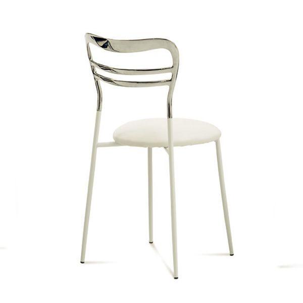 Dora chaise empilable domitalia en m tal et aluminium for Chaise domitalia