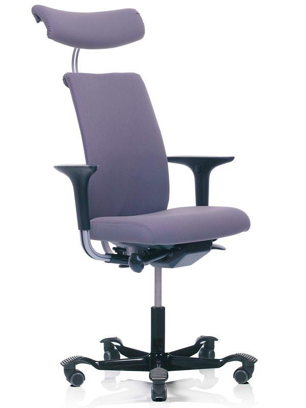 H05 ® - Sedia ufficio ergonomica HÅG, parzialmente imbottita, schienale in diverse misure ...