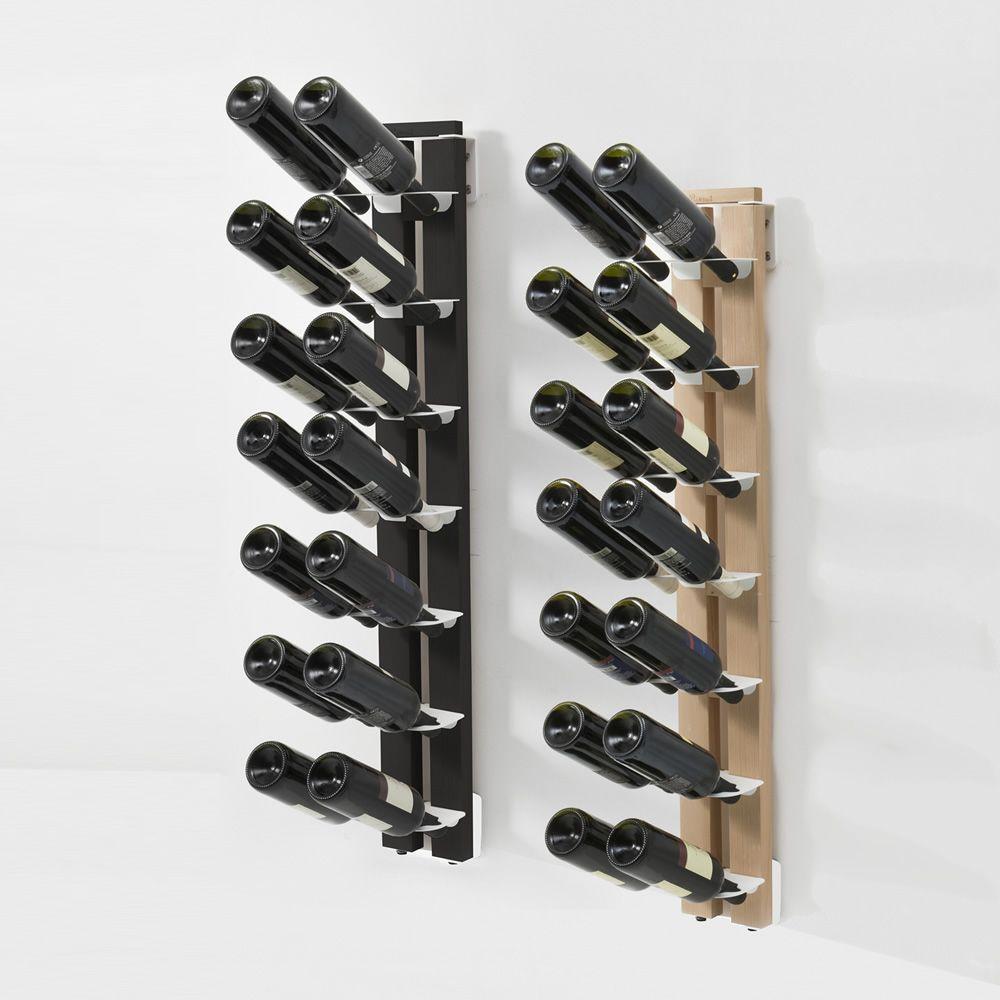 Zia Gaia P Portebouteilles De Design à Fixer Au Mur En Bois - Porte bouteille design