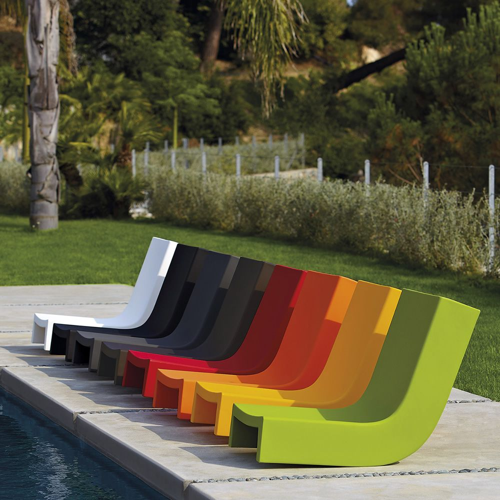 Twist schaukelsessel slide aus polyethylen auch f r den garten - Schaukelsessel garten ...