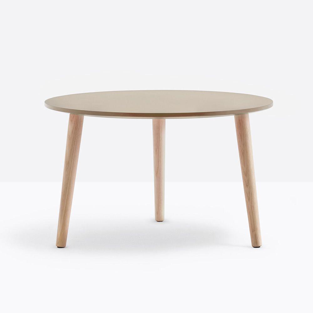 malm t pedrali beistelltisch aus holz mit runder oder viereckiger holzplatte in. Black Bedroom Furniture Sets. Home Design Ideas